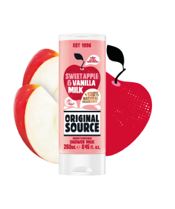 Original Source Sweet Apple & Vanilla Shower Milk