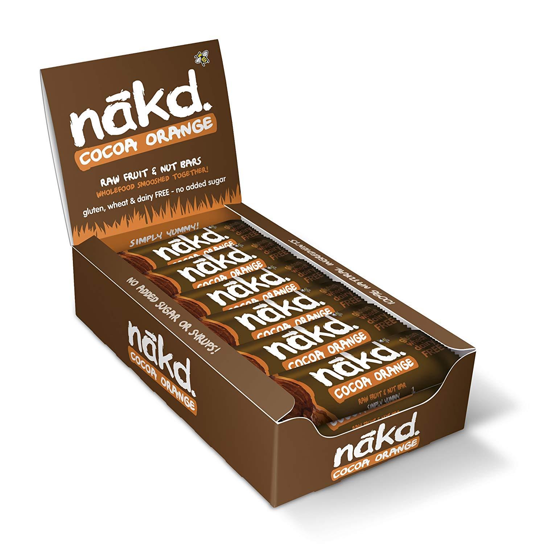 Nakd Cocoa Orange Bar (pack of 18)