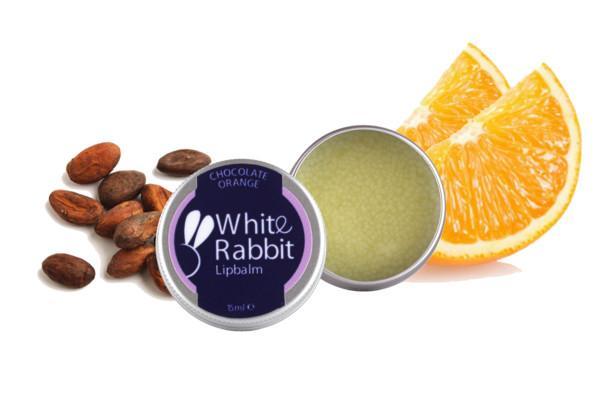 White Rabbit Skincare - Chocolate Orange Lip Balm