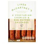 Linda McCartney Vegetarian Chorizo & Red Pepper Sausages 300g