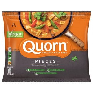 Quorn Frozen Vegan Pieces 280g