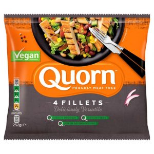 Quorn Vegan Fillets 252g