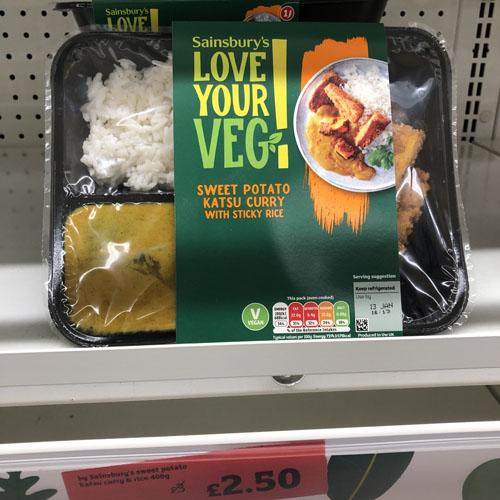 Sainsbury's Katsu Curry