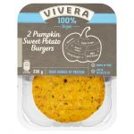 Vivera 2 Pumpkin & Sweet Potato Burgers 200g
