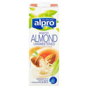 Alpro Almond Unsweetened Drink Uht