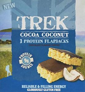 Trek Cocoa Coconut 4 Protein Flapjacks