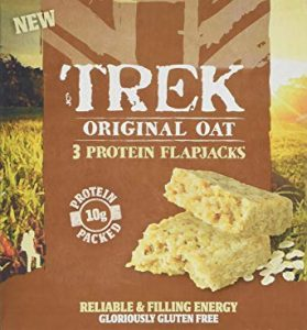 Trek Original Oat Protein Flapjacks