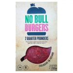 No Bull Burgers Vegan Quarter Pounders