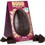 Solid Dark Chocolate Easter Egg
