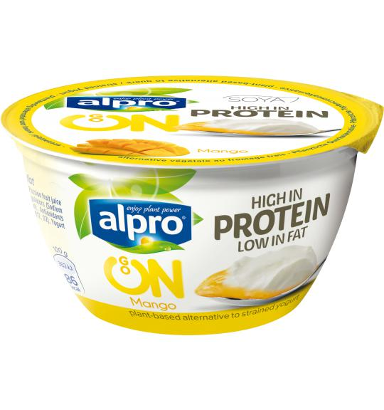 Alpro Go On Mango Soya Yogurt Alternative