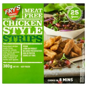 Fry's Chicken-Style Strips Frozen 380g