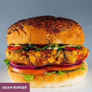 Hungry Horse Asian Burger