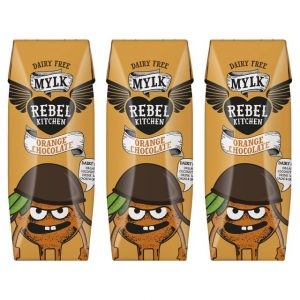 Rebel Kitchen Organic Orange Choc Dairy Free Mylk 3 x 250ml