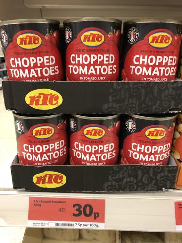 KTC Chopped Tomatoes