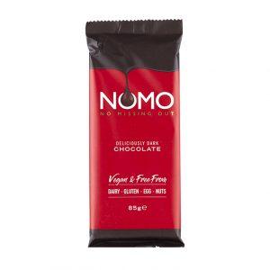 NOMO Deliciously Dark Choc Bar 85g