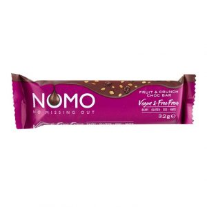 NOMO Fruit & Crunch Choc Bar 38g