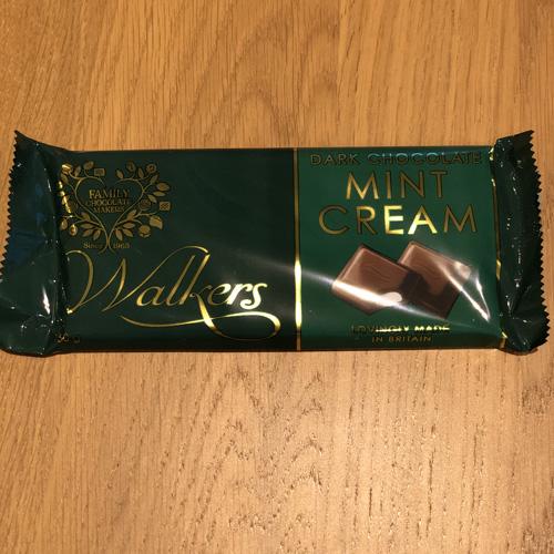 Walkers Mint Cream Dark Chocolate