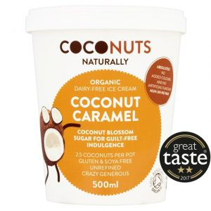 Coconuts Naturally Coconut Caramel Organic Dairy-Free Ice Cream 500ml