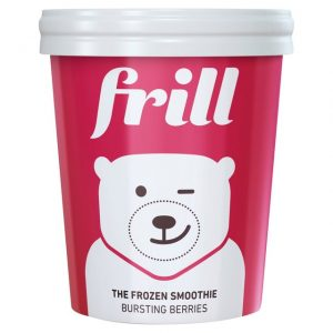 Frill The Frozen Smoothie Bursting Berries 500ml