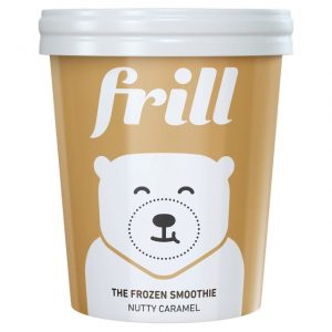 Frill The Frozen Smoothie Nutty Caramel 500ml