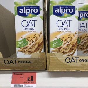 Sainsburys Alpro Oat Milk