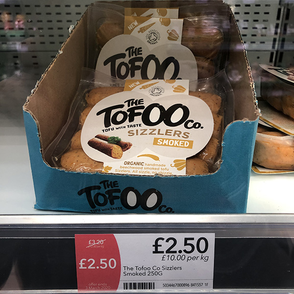 Co-op The Tofoo Co Smoked Sizzlers