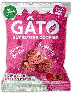 Gato Cookie Bites - Almond Butter & Raspberry (33g)