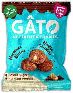 Gato Cookie Bites - Hazelnut Butter & Double Choc (33g)