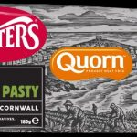 Ginsters Vegan Quorn Pasty 180g