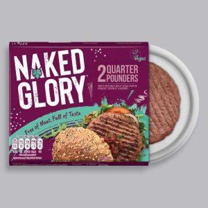 Naked Glory Quarter Pounders 2 Pack 227g