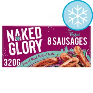 Naked Glory Vegan Sausages 8 Pack 320g