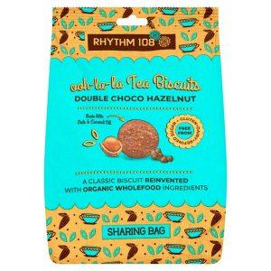 Rhythm108 Ooh La La Tea Biscuits Double Choco-Hazelnut 135g