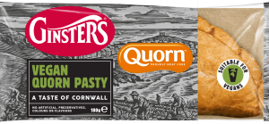 Ginsters Vegan Quorn Pasty