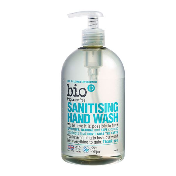 Bio-D Sanitising Hand Wash 500ml