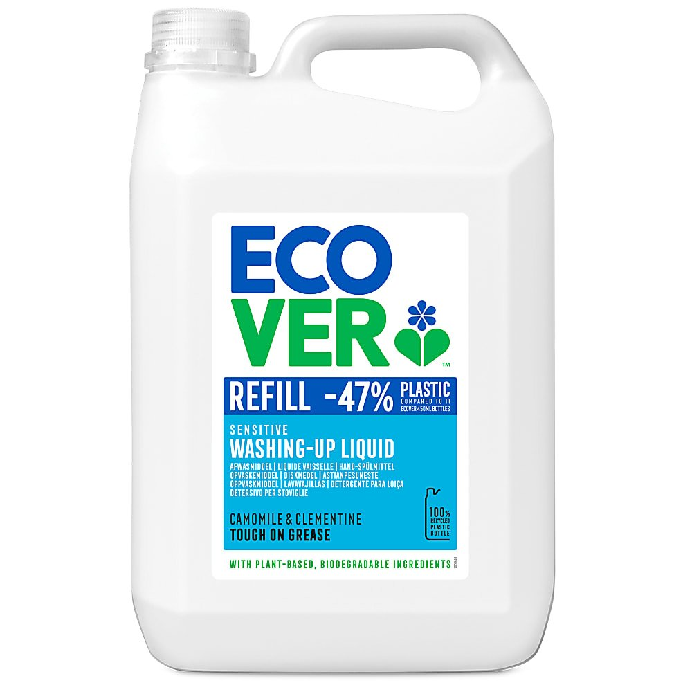 Ecover Washing Up Liquid 5l Refill