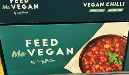 Feed Me Vegan range only £2.99