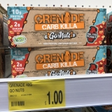Grenade Carb Killa Go Nuts protein bars £1 in B&M