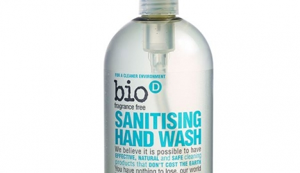 Get 20% off Bio-D All Purpose and Hand Wash Sanitisers 500ml and 5L