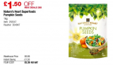 1kg of Pumpkin Seeds only £5.39 at Costco