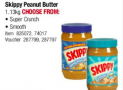 Massive 1.13kg Skippy £5.19 each