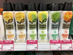 Original Source Foaming shower gel £2 in Superdrug