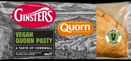 Ginsters Vegan Quorn Pasty £1
