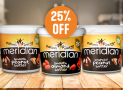 25% off Meridian Nut Butters