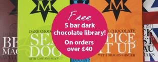 5 Free Bars of Montezuma's Dark Chocolate