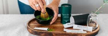 20% off all OMGTea Matcha products