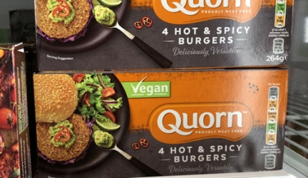 Quorn Hot & Spicy Burgers Half Price