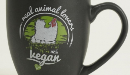 Real Animal Lovers Are Vegan Mug
