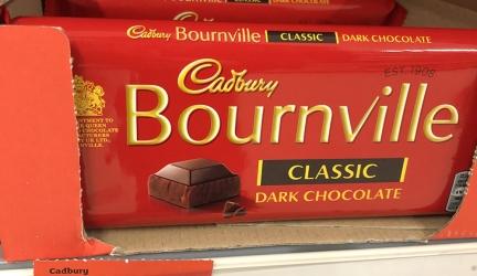 Cadbury Bournville 180g Bar £1.50