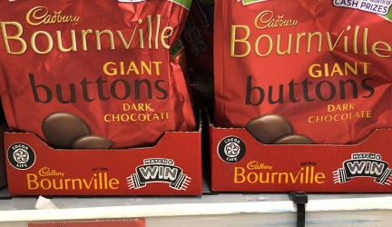 Cadbury Bournville Buttons £1