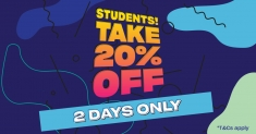 20% off everything at Schuh for students